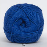Blød Bomuld col.59 konings blauw