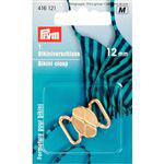 Bikini sluiting goud   12 mm