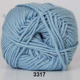 Merino Cotton col.3317 zeegroen