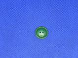 Knoop midden groen 14mm