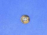 Knoop licht bruin gevlekt 15mm