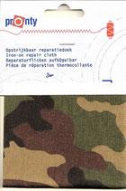 Reparatie doek camouflage