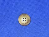 Knoop licht bruin gevlekt 20mm