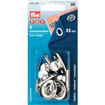 Tourniquets 33 mm zilver