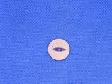 Knoop paars glans 16mm