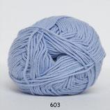 Cotton nr8 col.603 licht blauw