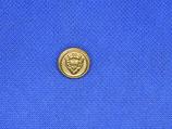 Knoop schild goud kleur 15mm