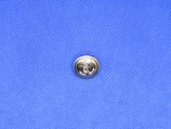 Knoop anker zilver kleur 15mm