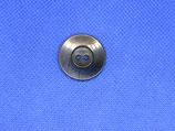 Knoop donker paars 22mm