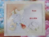Borduur pakket alleen naam met voorgedrukt stramien