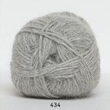 Hjerte Alpaca col.434 licht grijs