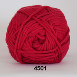 Cotton 8-8 col.4501 rood