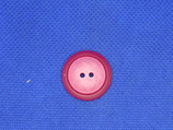 Knoop knal roze glans 22mm