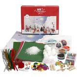 Materiaalset voor kerstlandschap