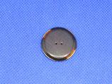 Knoop donker bruin 25mm