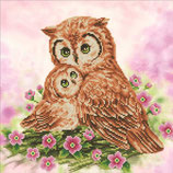 Diamond Dotz Mother & baby Owl