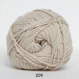 Cotton nr.8 col.209 beige