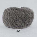 Børstet Uld col.435 grijs