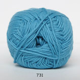 Cotton nr.8 col.731 donker turquoise