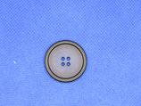Knoop donker blauw 4 gaten 28mm