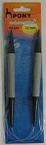 Rond breinaald 12mm-80cm kunststof