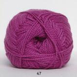 Blød Bomuld col.47 fuchia roze