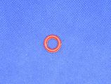 Kunststof ring rood 8mm