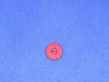 Knoop rood parelmoer 15mm