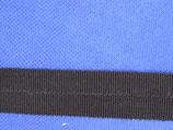 Vouwtres zwart 25mm