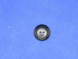 Knoop donker blauw 18mm
