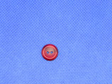 Knoop donker rood 7mm