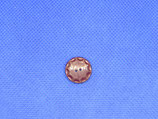 Knoop paars-bruin 15mm