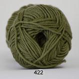 Merino Cotton col.422 bladgroen