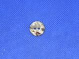 Knoop bruin gevlekt parelmoer 15mm