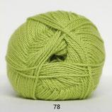 Blød Bomuld col.78 helder groen