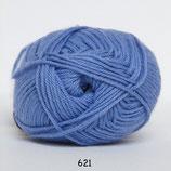 Cotton nr.8 col.621 blauw