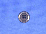 Knoop donker blauw 23mm