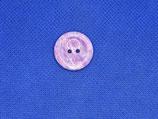 Knoop lila gevlekt 20mm