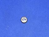 Knoop donker grijs 10mm