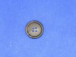 Knoop midden bruin 20mm