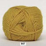 Merino Cotton col.847 groen-geel