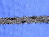 Stoffen band v-vorm 14mm