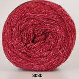 Wool Silk col.3030 rood-oranje
