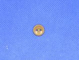 Knoop midden bruin 10mm