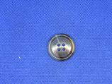 Knoop blauw-grijs-bruin gevlekt 20mm