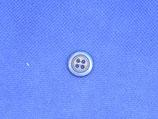Knoop kobalt blauw 15mm