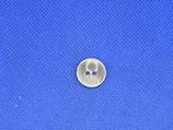 Knoop donker grijs glans 15mm