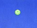 Knoop groene kool met wit 14mm