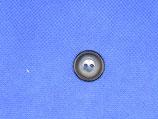 Knoop donker blauw met midden blauwe kern 18mm