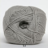 Blød Bomuld col.53 licht grijs